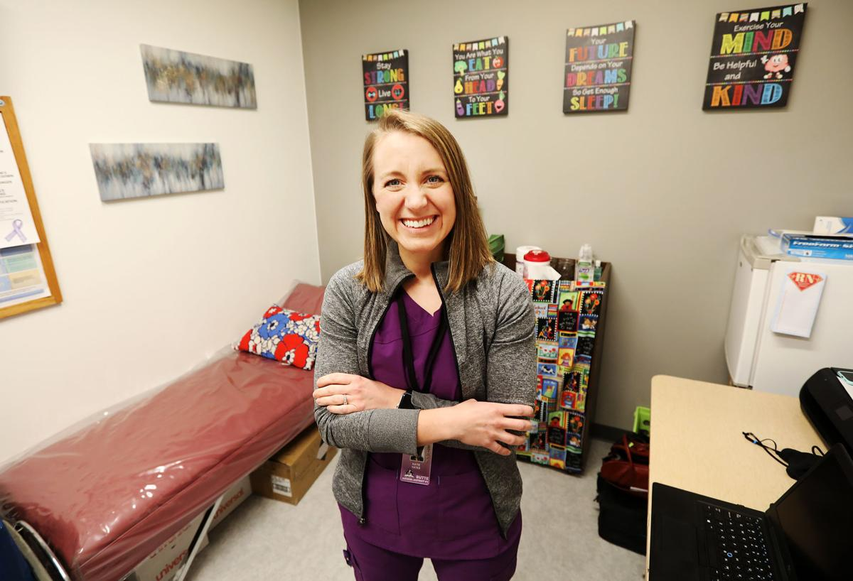 Katie Yates named School Nurse of the Year