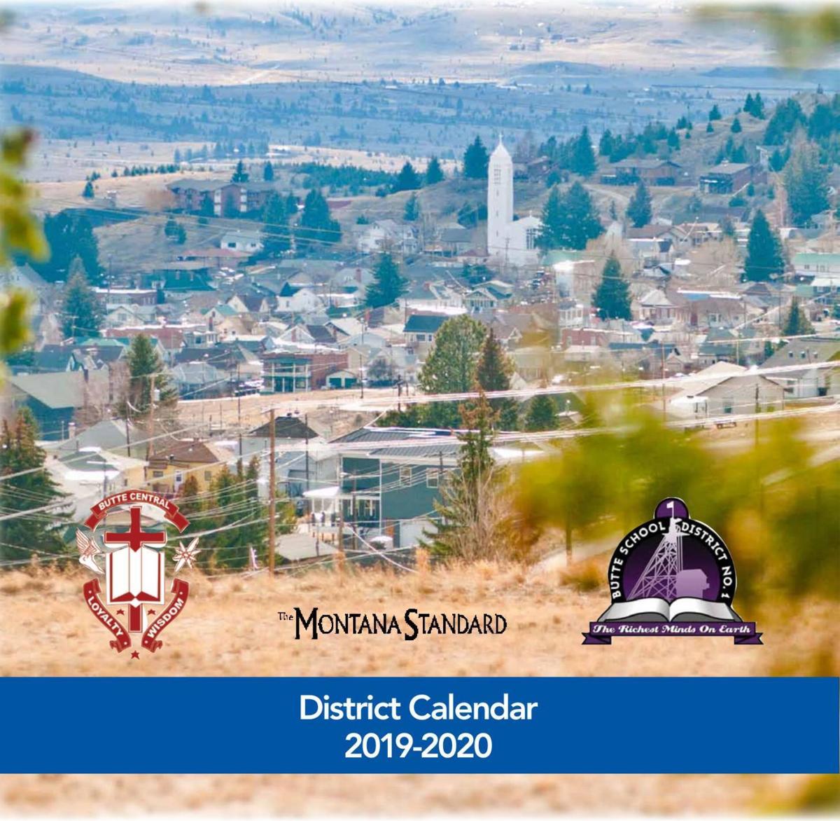 Butte School District Calendar 2019-2020