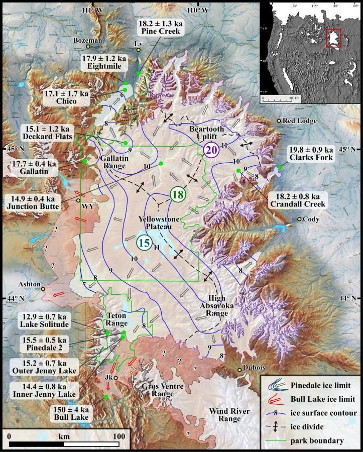 Yellowstone's glacier
