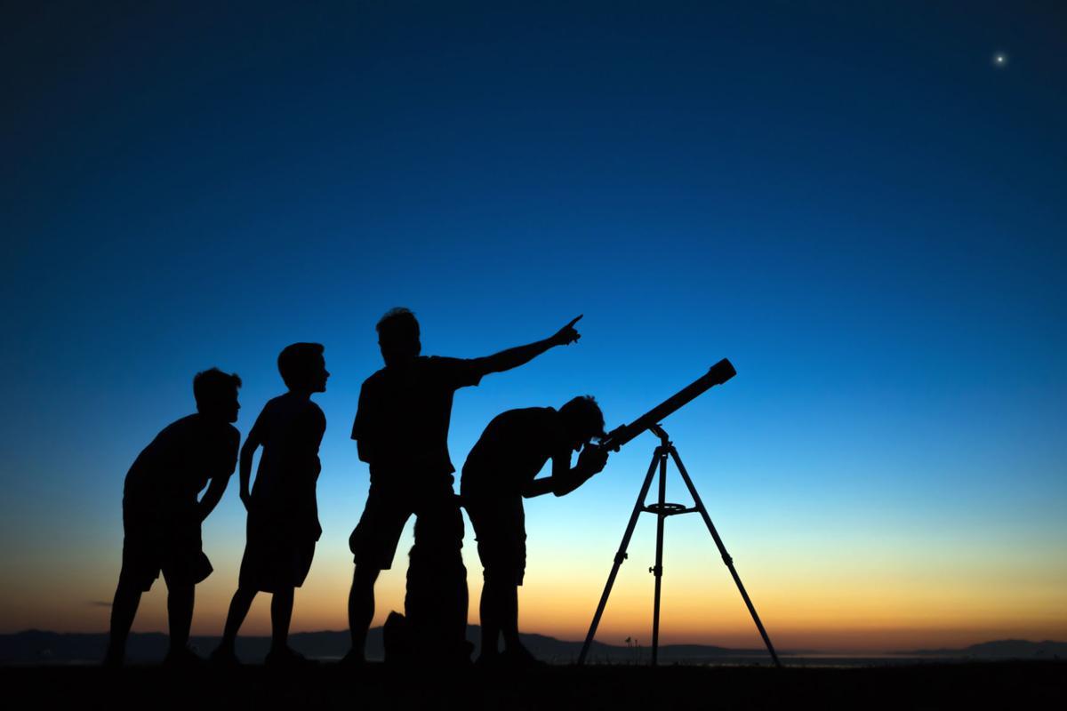 Stargazing Getty image