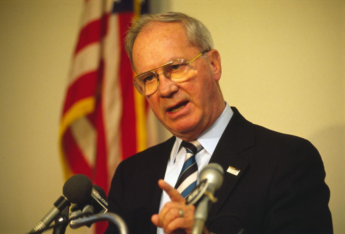 Former Montana Gov. Stan Stephens