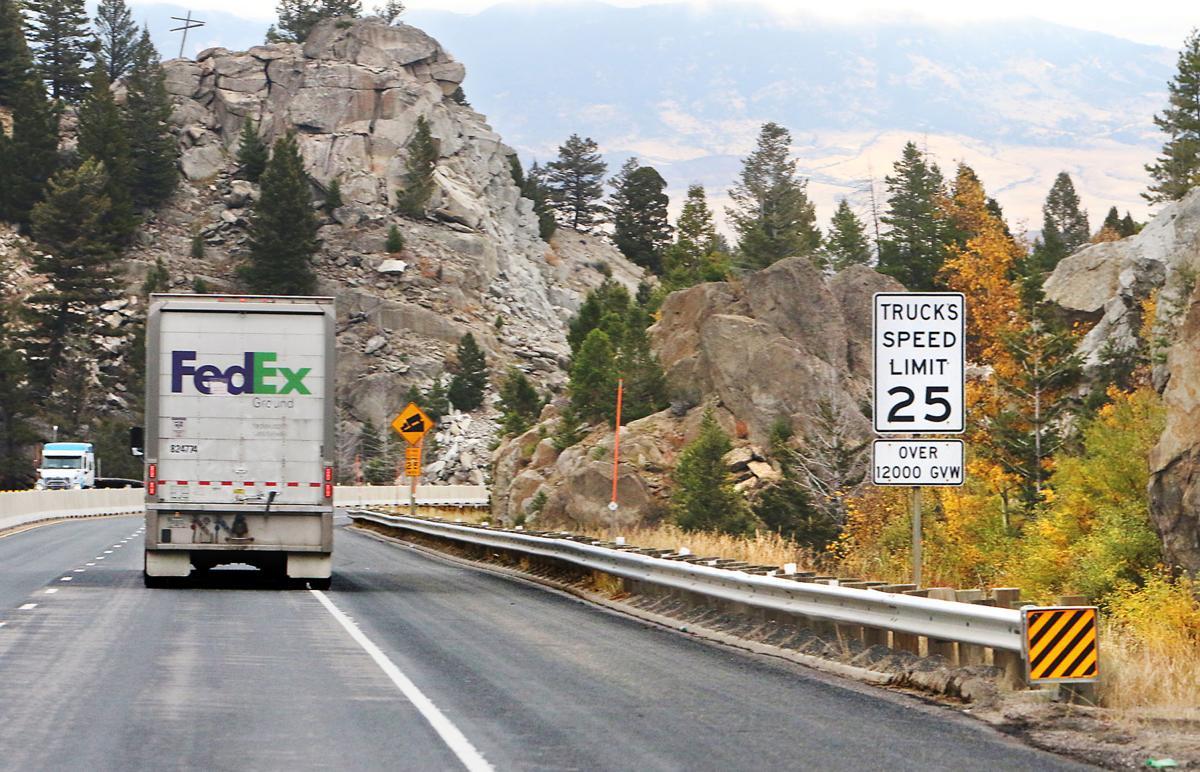 Trucks @ 25 mph