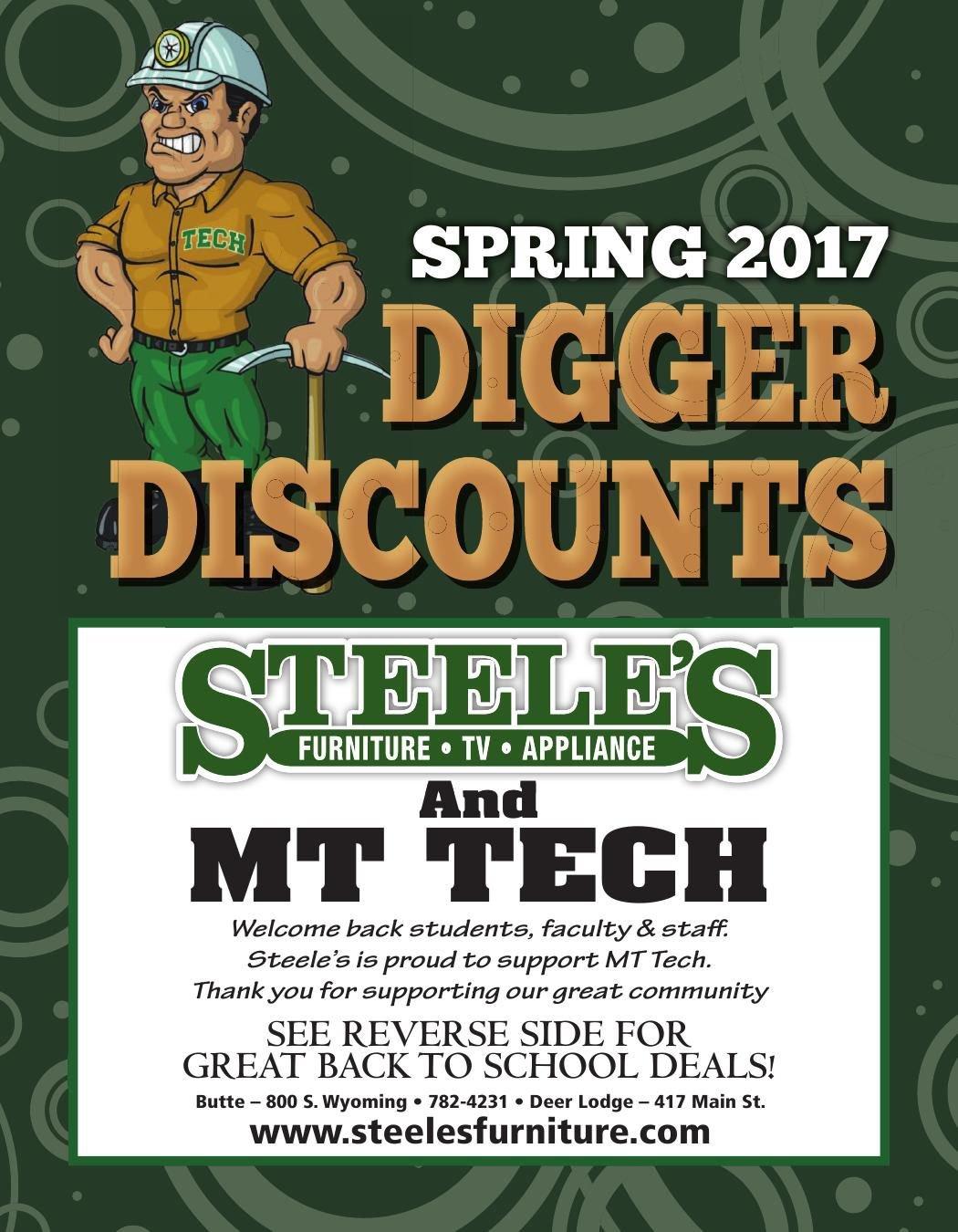 Digger Discounts!
