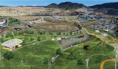 Sculpture park, amphitheater among amenities in park plan