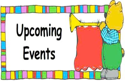 Upcoming events with bear