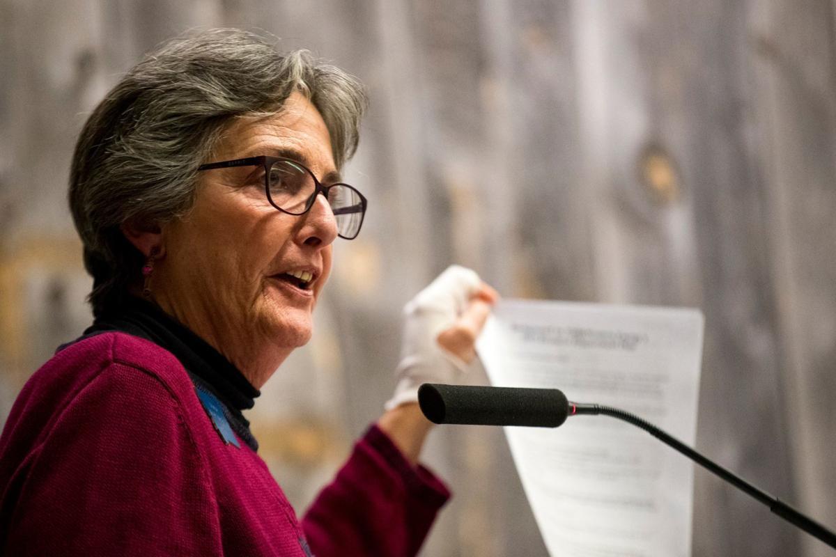 State Senator Mary McNally.