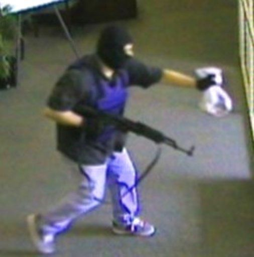 FBI: Montana man is bank robber dubbed 'AK-47 bandit'
