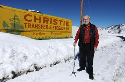 Harp Cote recalls his work for Butte Central Schools auction