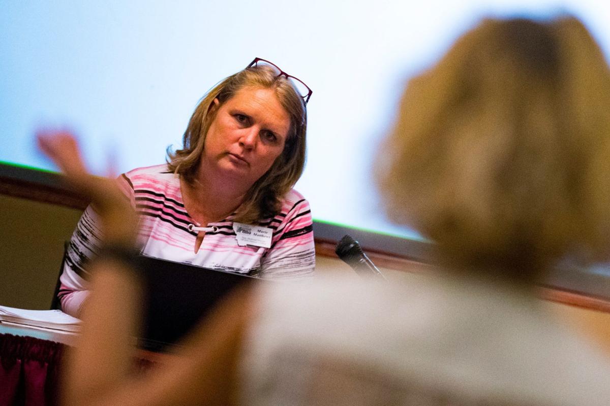 State Medicaid Director Marie Matthews