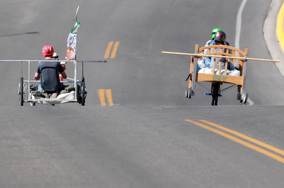 Tech's annual bed races