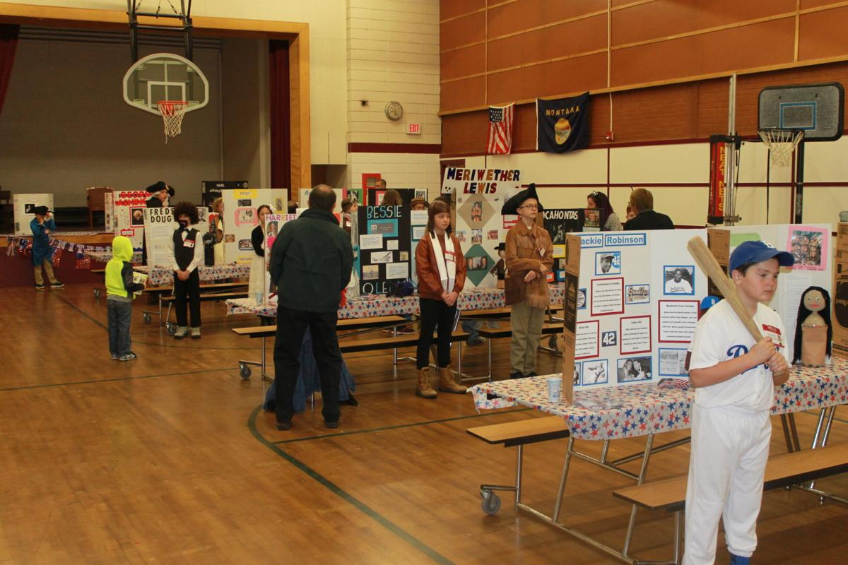 Butte Central Elementary Wax Museum