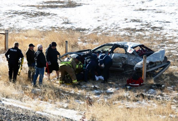 update 1 dead in i 90 rollover near fairmont exit others injured local. Black Bedroom Furniture Sets. Home Design Ideas