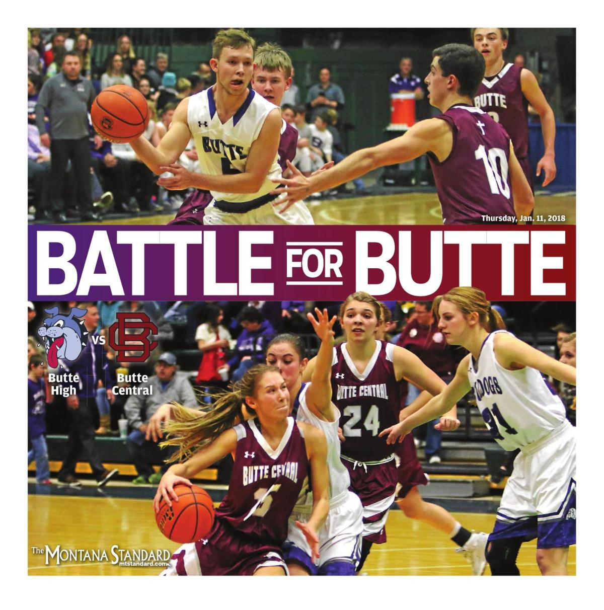 Battle For Butte - Crosstown Rivalry - January 11, 2018