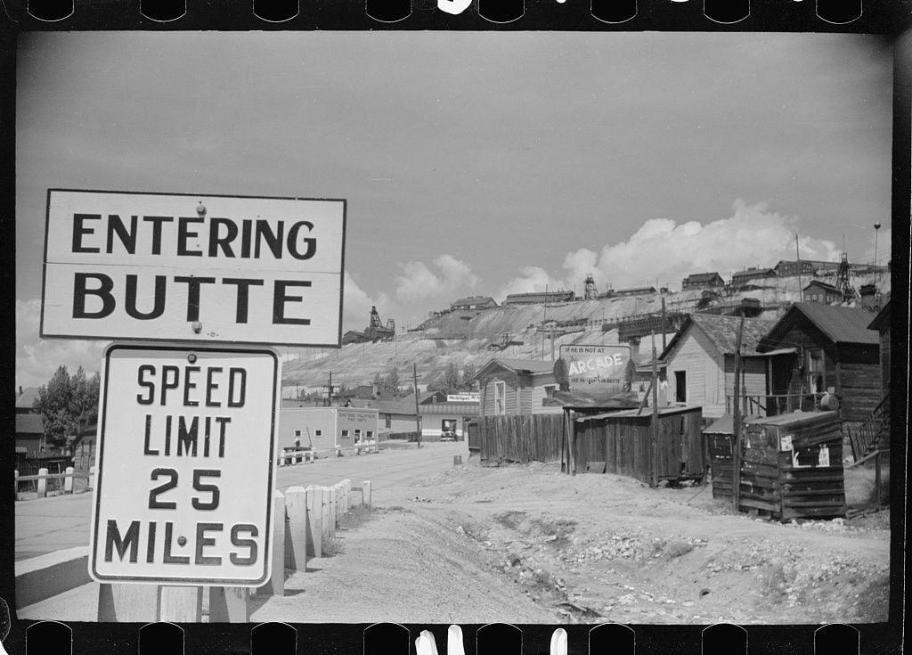 Entering Butte