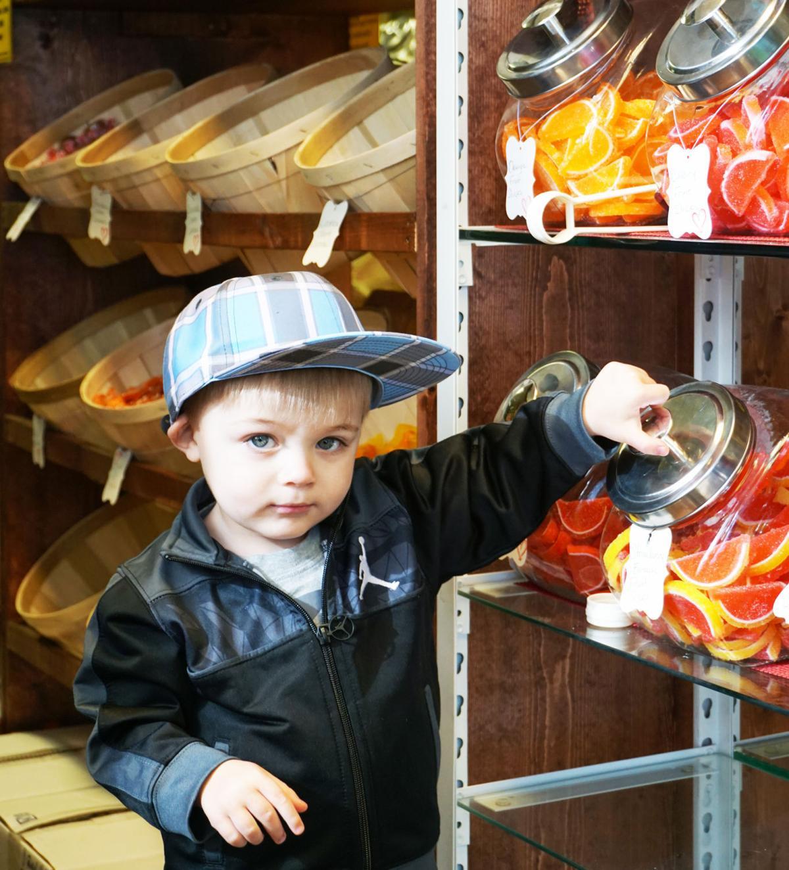 Craig Durkin's two-year-old son
