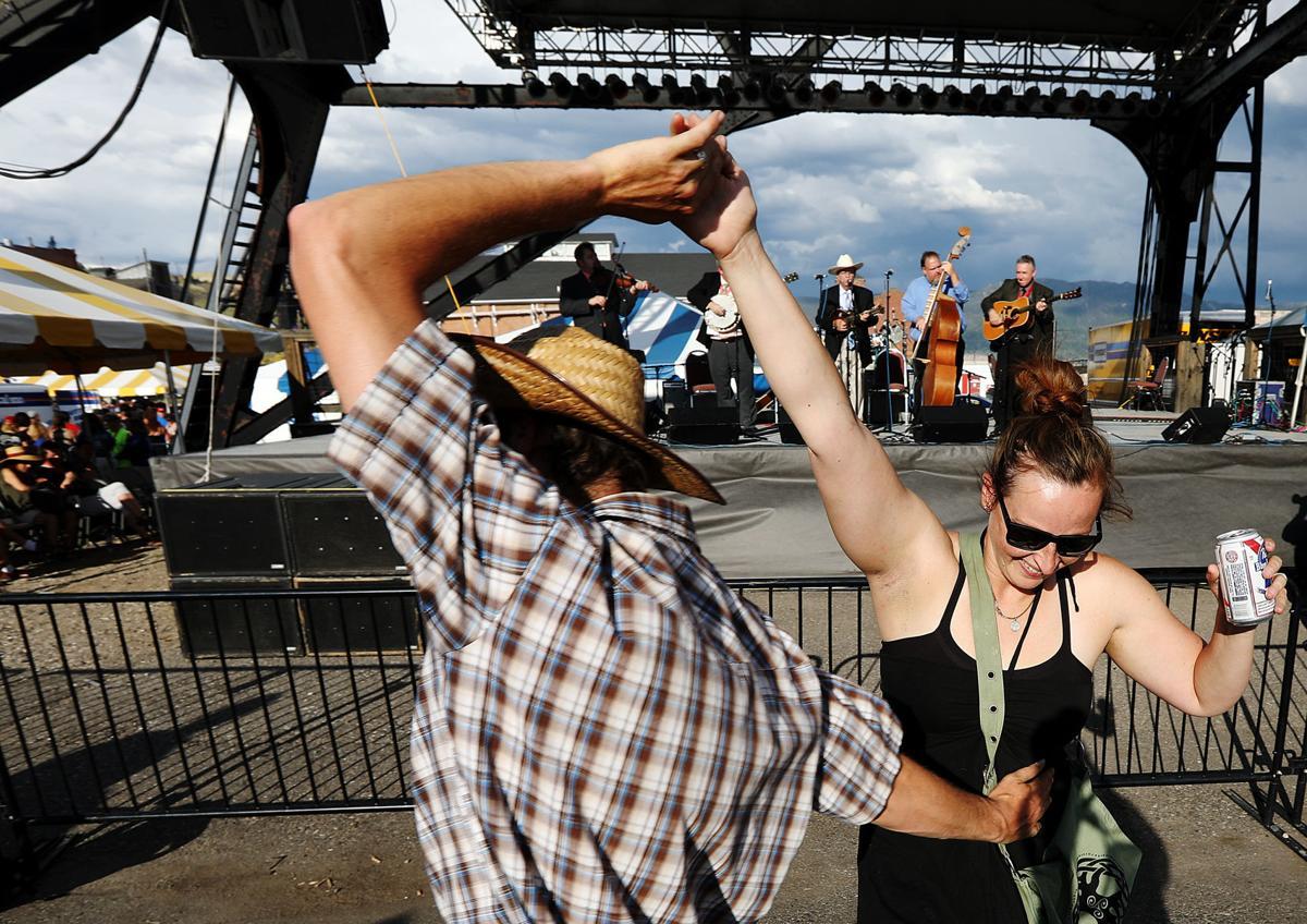 Dancing under the headframes in Butte