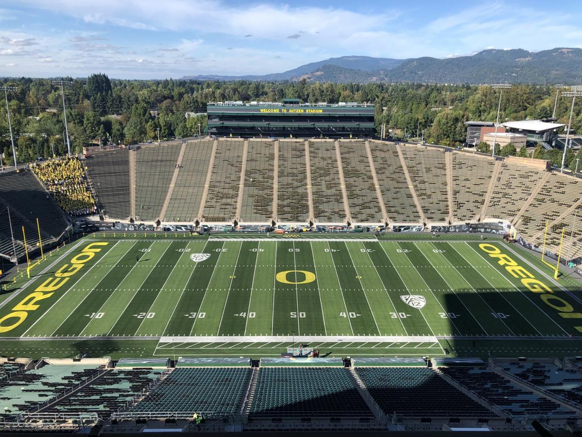 Oregon Autzen Stadium pregame
