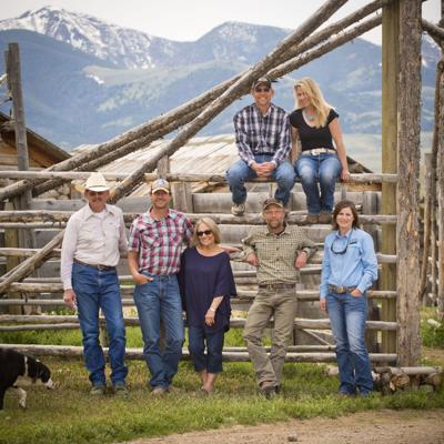 Hansen Ranch family