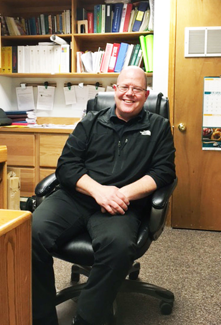 Kurt Marthaller, Central Services director, Butte school district