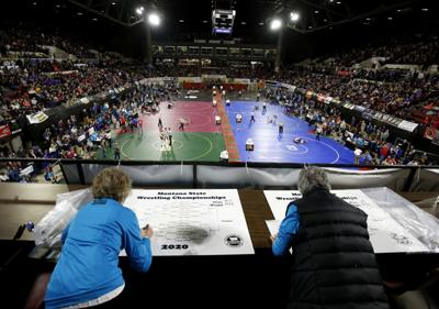 For decades, Montana calligraphers have created treasured state wrestling brackets
