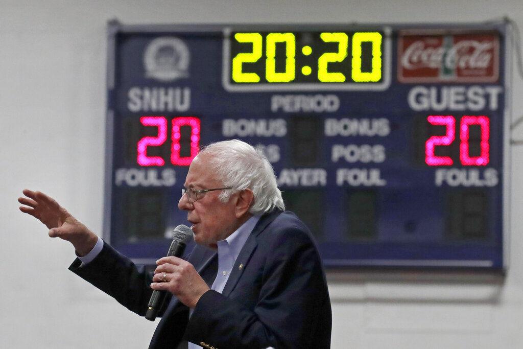 Election 2020 Sanders Democrats