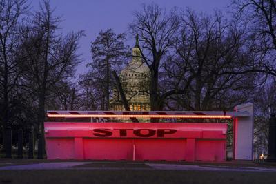 APTOPIX Capitol Breach Threat