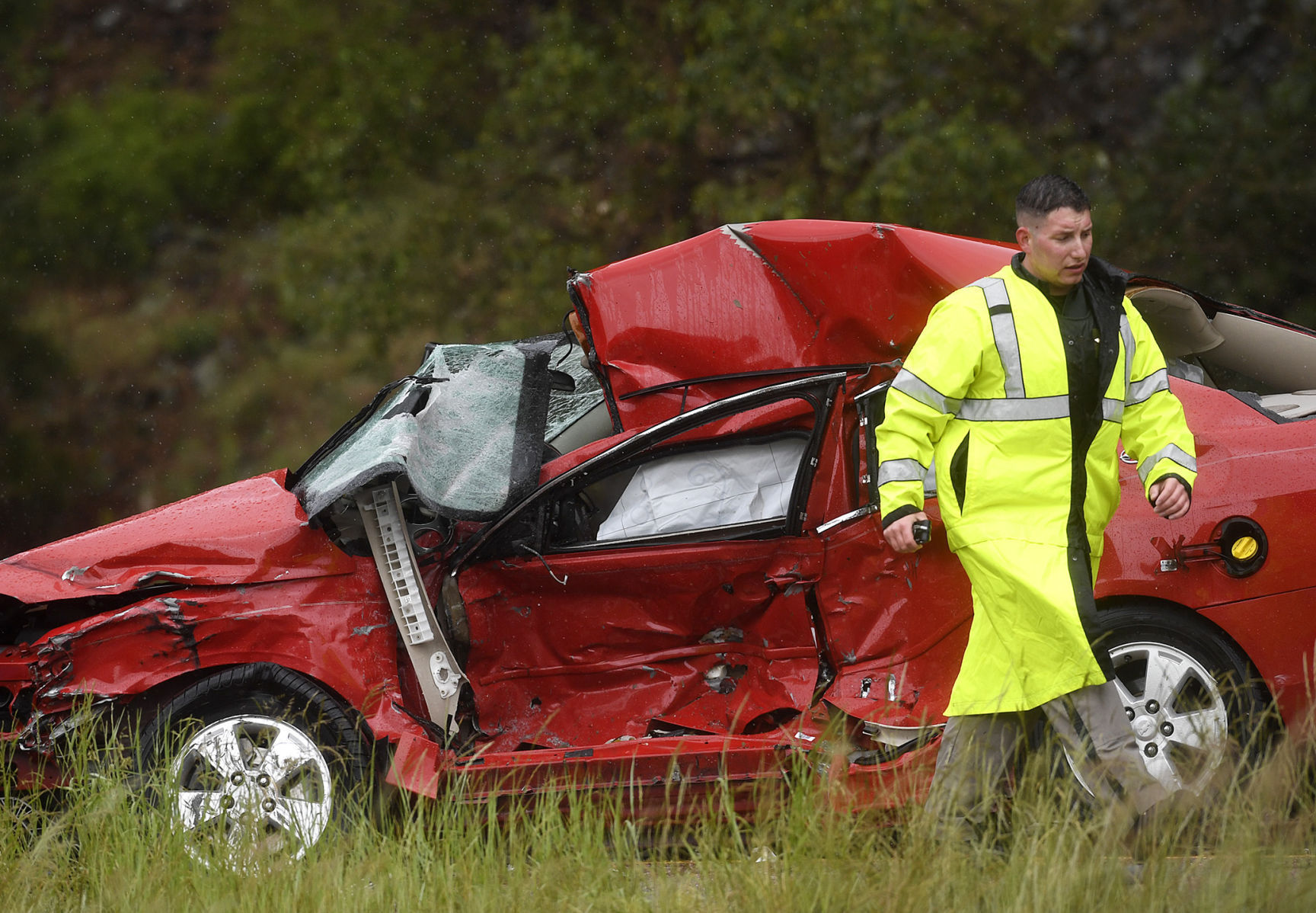 Car Semi Crash Near Bearmouth Claims The Lives Of Two People
