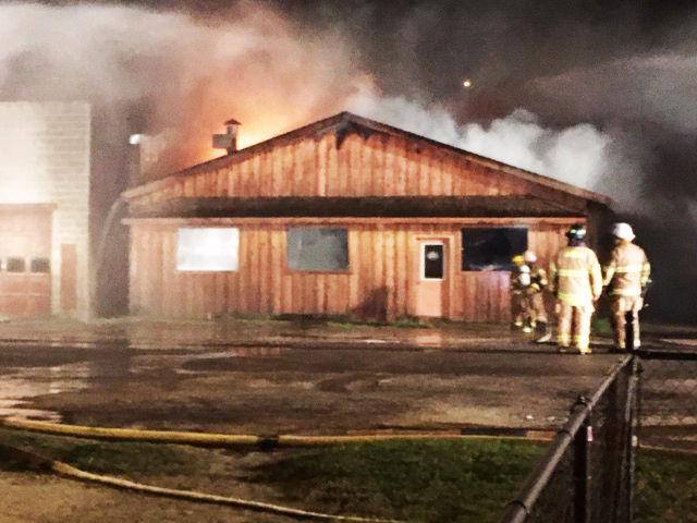 Fire in Twin Bridges