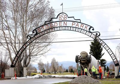 New Stodden Park arch