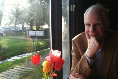 Richard Wheeler at Pine Creek on his 80th birthday