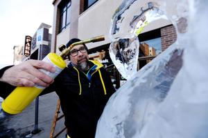 Ice Sculpting contest Saturday in Uptown Butte