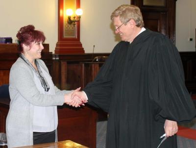 Interim coroner sworn in