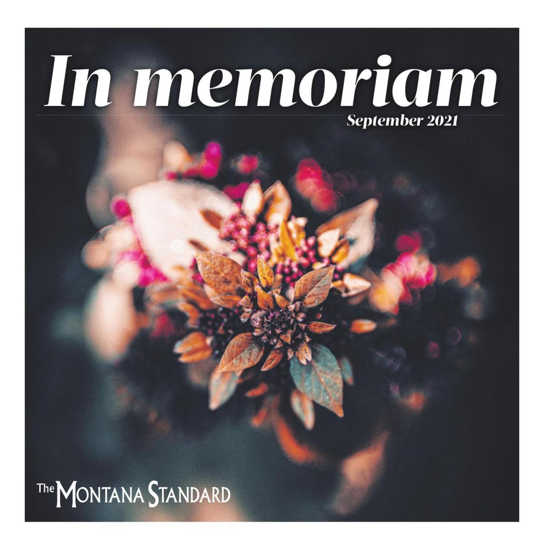In Memoriam Sept. 2021