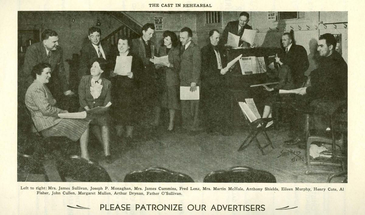 Cast of Irish play