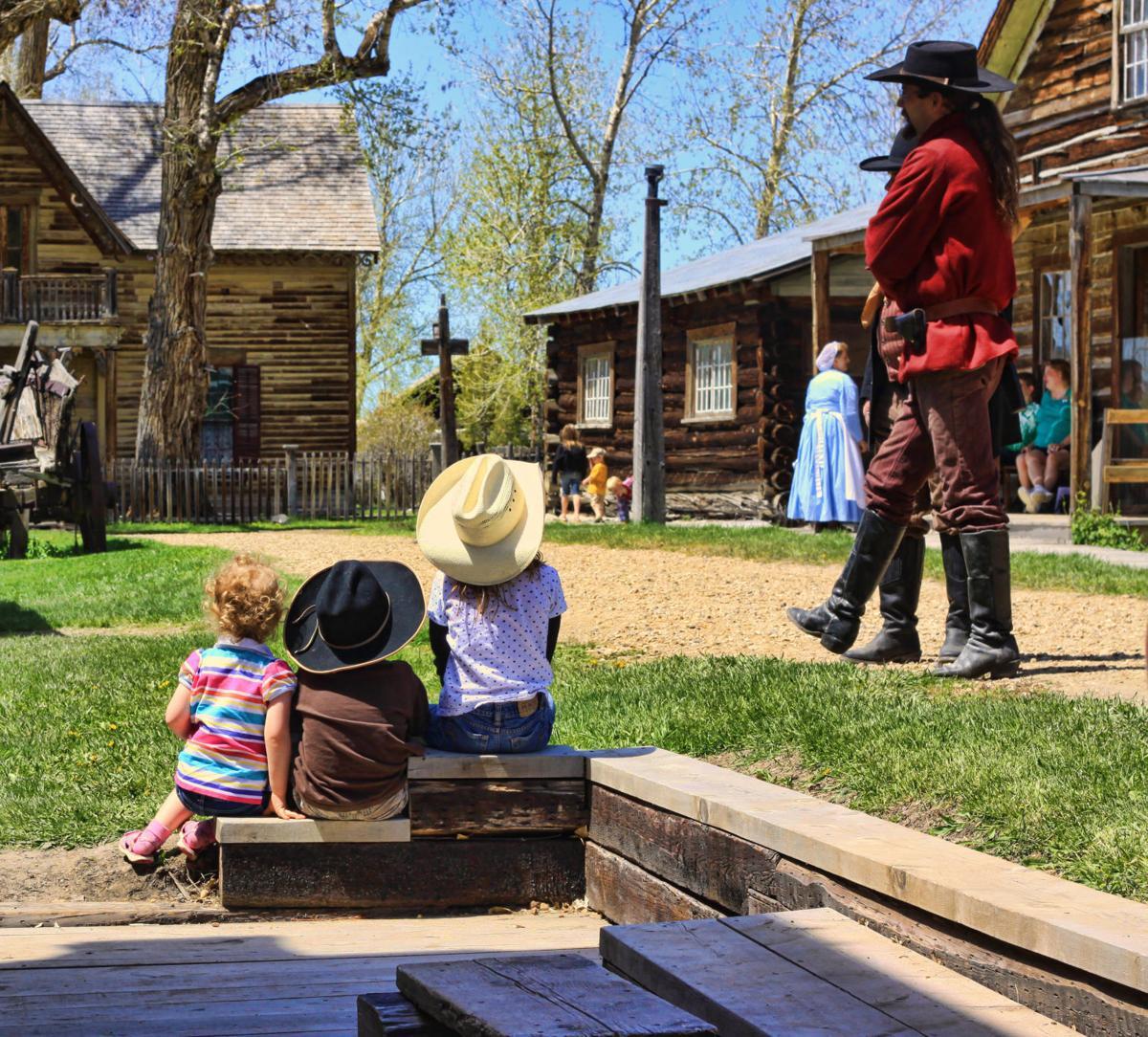 Virginia City living museum performance