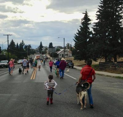 Walkerville's inaugural dog parade - online