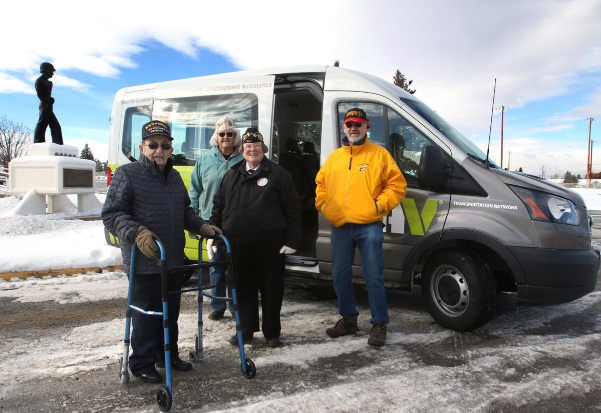 New van for area veterans