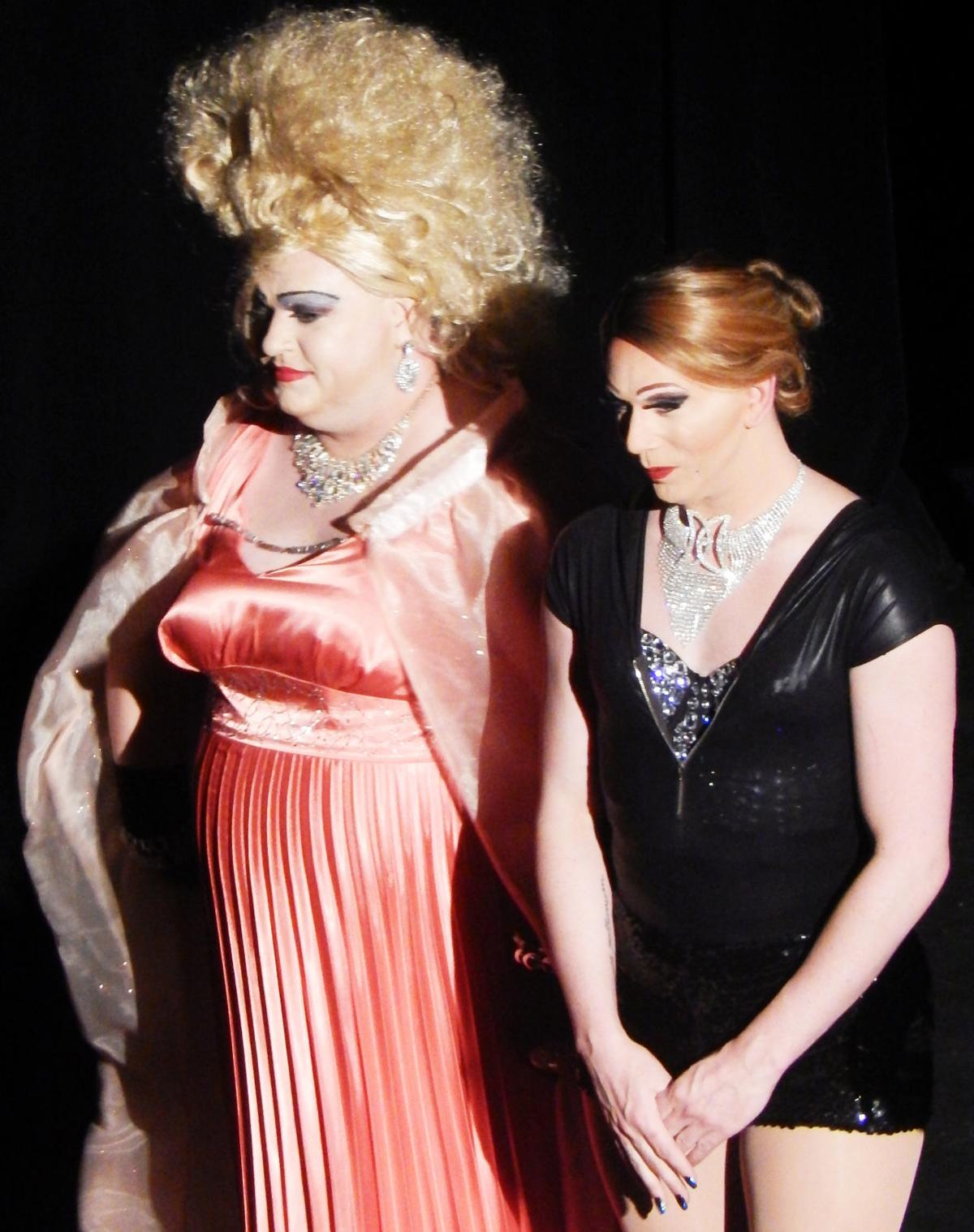 Drag show photo one