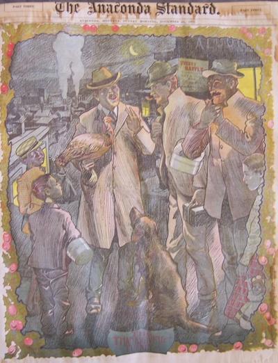 Thanksgiving illustration 1902