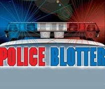 Crime icon police blotter