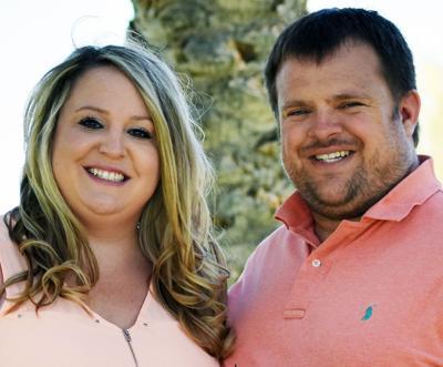 Brittany Hoehne and Drew Watkins