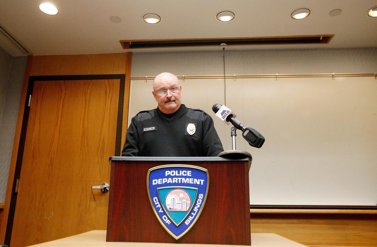 Billings Police Chief Rich St. John