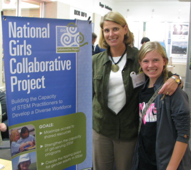 Mother-daughter duo worked together in a Montana Girls STEM project
