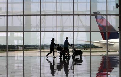 The Maynard H. Jackson Jr. international terminal officially opened its doors today as passengers from around the globe got their first look at the new facility, Wednesday, May 16, 2012, at Hartsfield-Jackson Atlanta International Airport.