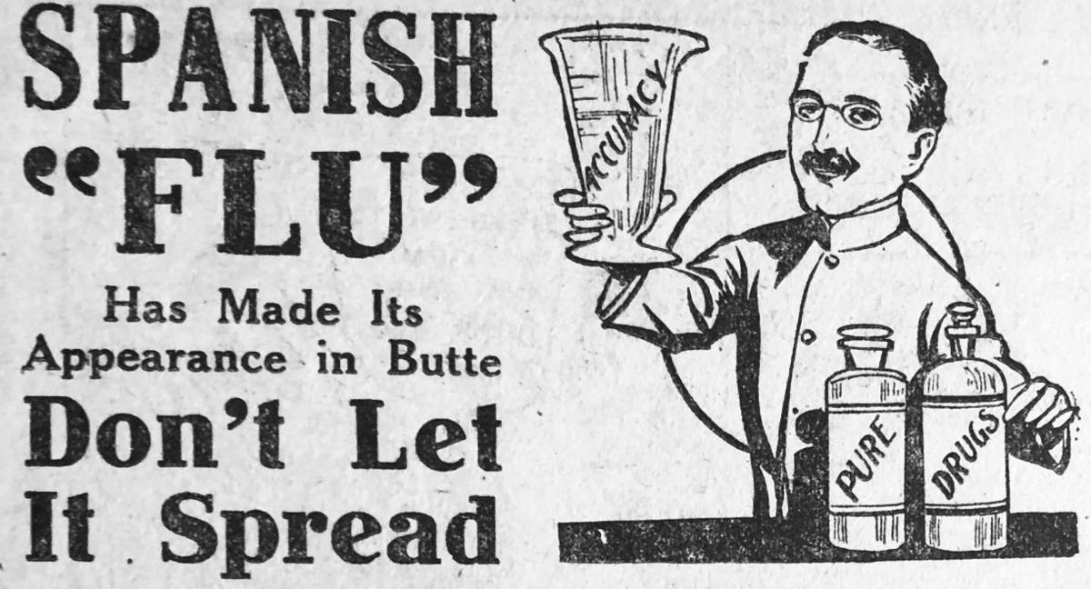 Spanish flu ad