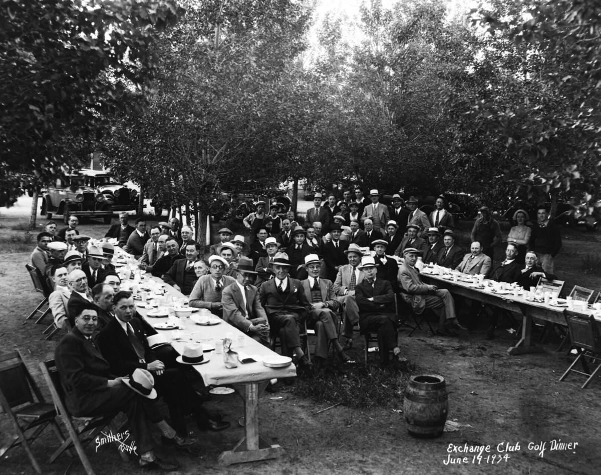 Butte Exchange Club golf dinner June 19,1934