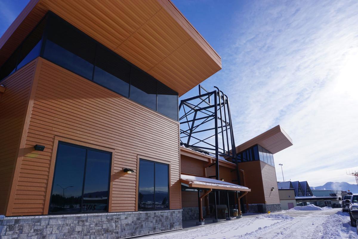 New Bert Mooney Airport terminal