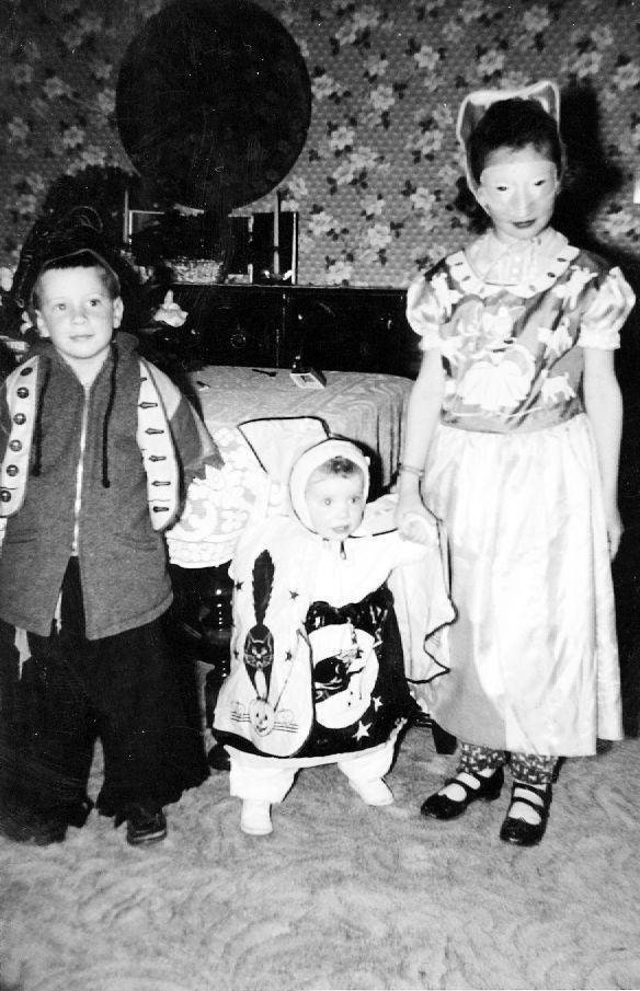 Halloween Hoopla Mischievous Butte Kids In Costumes Over The