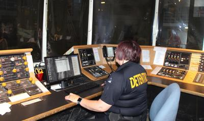 Butte jail control room