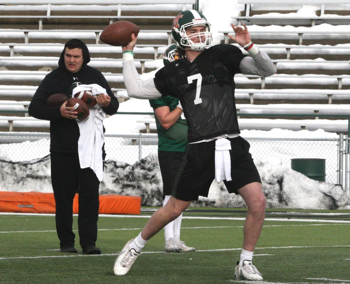Montana Tech spring football - Jet Campbell